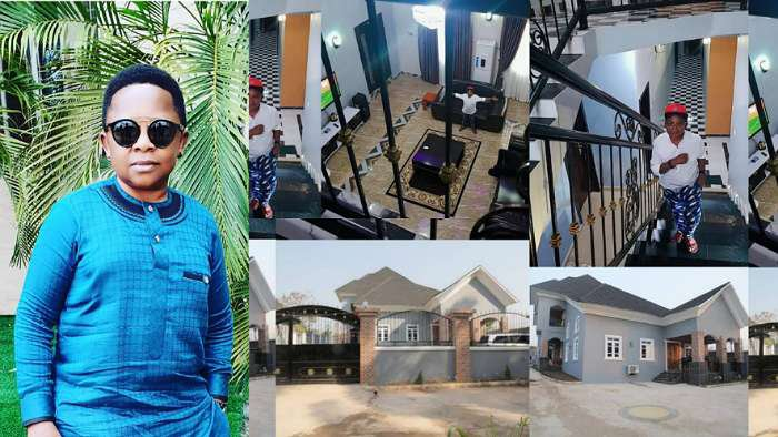 Actor Chinedu Ikedieze, a.k.a Aki, builds multi million naira mansion in his hometown, Bende, Abia State
