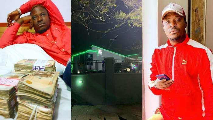 Days after flaunting money on social media, singer, Jaywon got robbed