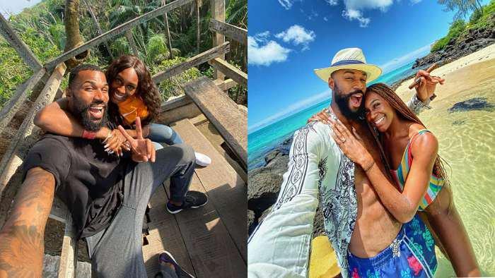 Ex-BBNaija star, Mike and his wife, Perri-Shakes go on honeymoon in Mauritius