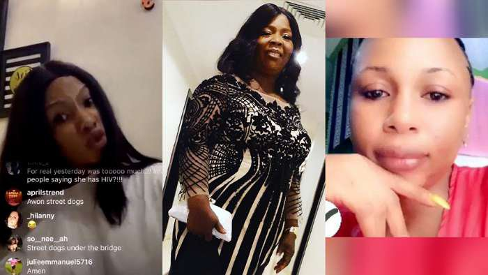 Reality star, Mercy and her sister, Promise Eke come hard on Tacha's fans for declaring their mom dead