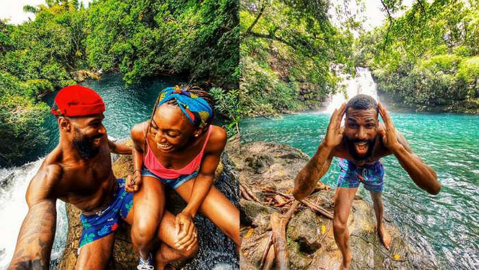 Mauritius 'done bust my brain' – BBNaija's Mike declares as he cruises with wife on honeymoon
