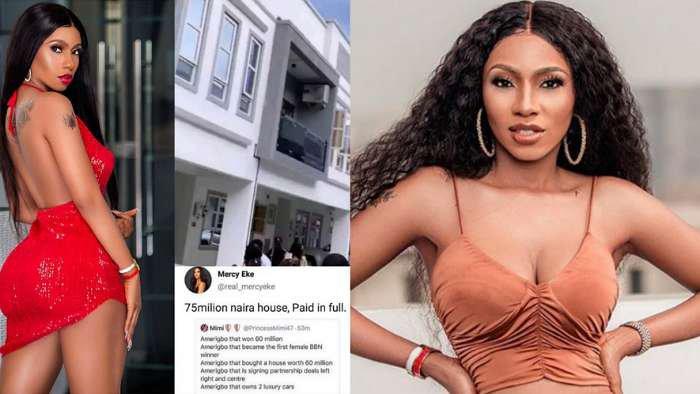 My house cost me N75m and I paid in full – BBNaija 2019 winner, Mercy Eke reveals