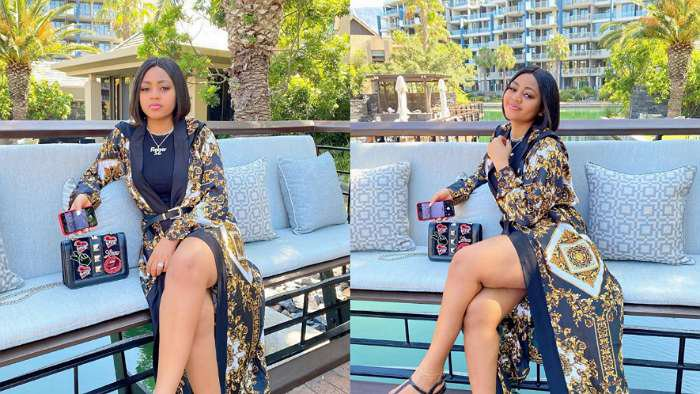 Actress Regina Daniels is now healthy and hearty; See her recent photos taken in Capetown, SA