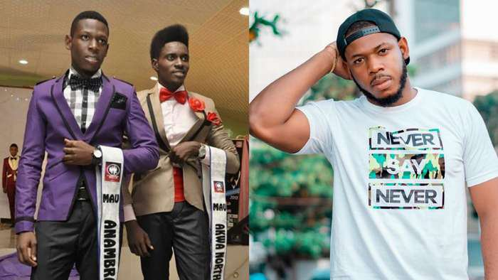 Did BBNaija's Frodd bleach? Check out this throwback photo of him and a friend