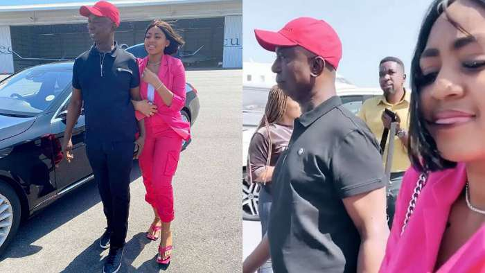 Actress Regina Daniels and her billionaire boo, Ned all loved up on vacay