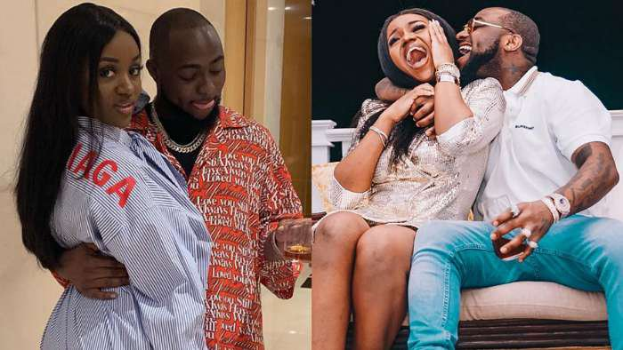 Fear grips fans as music star, Davido unfollows his fiancee, Chioma on IG