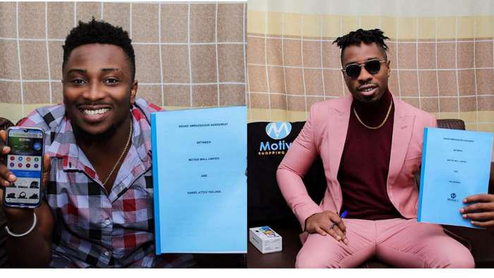 Reality Tv stars, Sir Dee and Ike become brand ambassador for international online store, Motive Mall