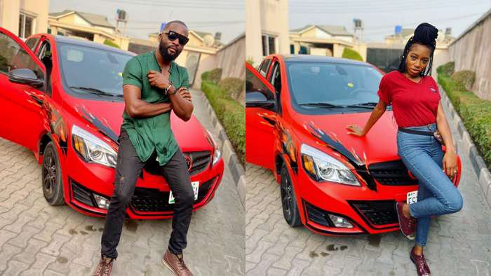BBNaija's Khafi pimps her IVM Fox 2.0 car, plans to spin around with her boo, Gedoni