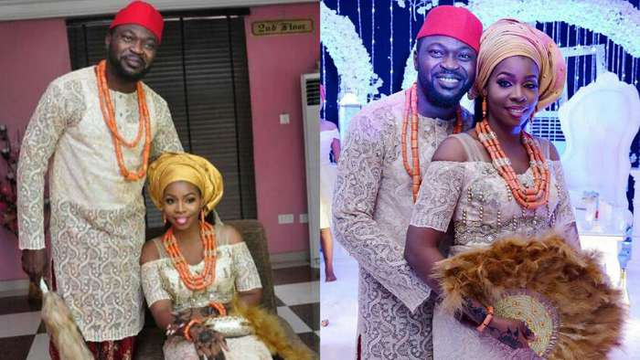 Comedian Buchi celebrates 3 years marriage anniversary with wife, Rukky