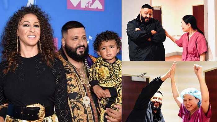 World famous Dj Khaled welcomes second child with wife, Nicole
