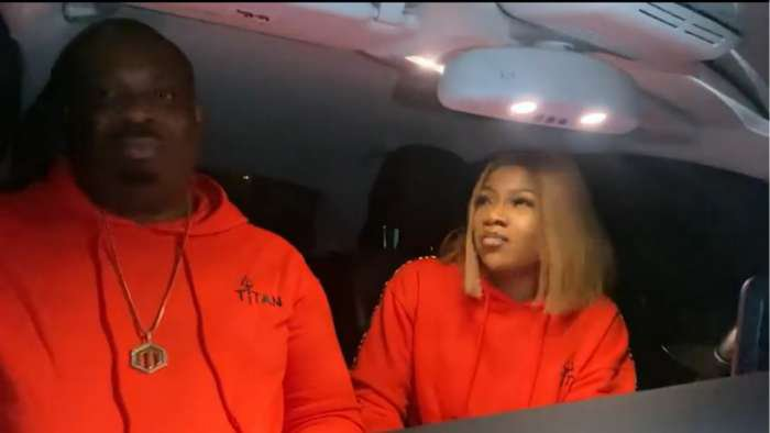 Reality star, Tacha features Don Jazzy in her new 'Karaoke With TBenz' (video)