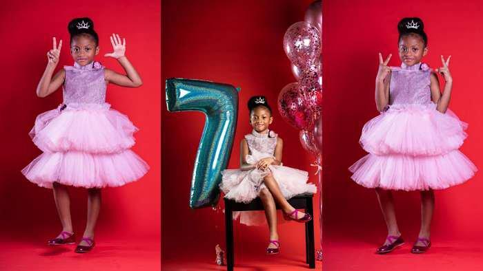 Music star, Mr P's beautiful daughter, Aliona clocks 7