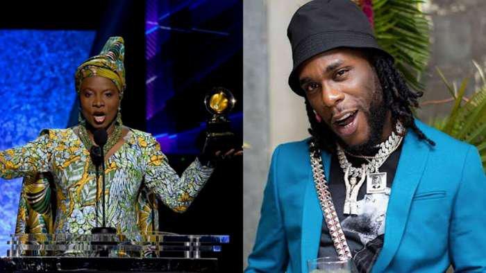 I love you forever – Burna Boy appreciates Beninese singer, Angelique Kidjo for dedicating award to him