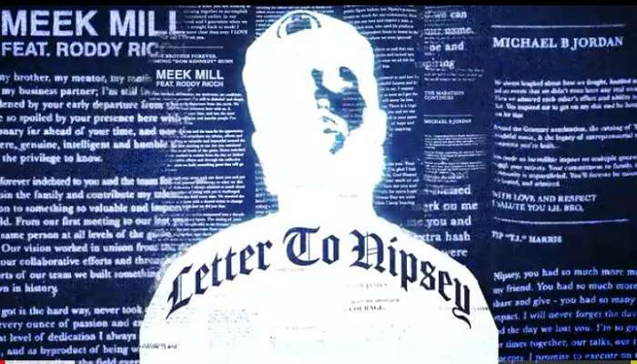 Download Instrumental Meek Mill – Letter to Nipsey (Reprod. By Melodysongz)