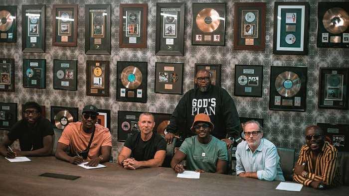 Kenyan afropop group, Sauti Sol sign first major recording deal with Universal Music Group