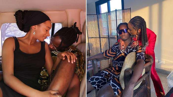Singer, Mr Eazi and girlfriend, Temi Otedola celebrates 3 years as lovers