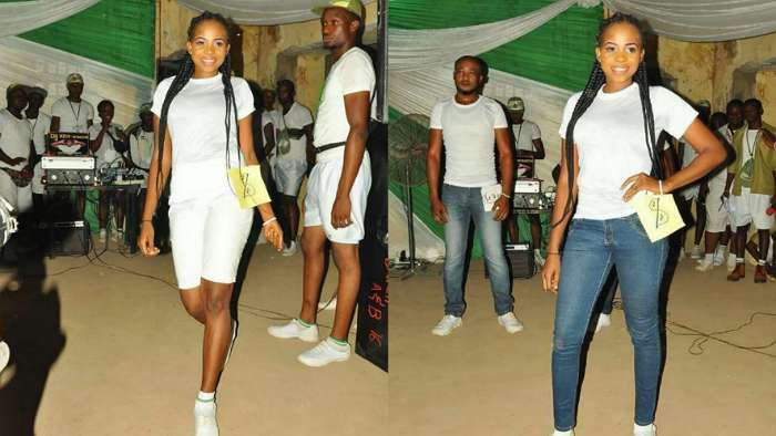 BBNaija star, Cindy shares throwback photo of herself contesting for Miss NYSC in 2017