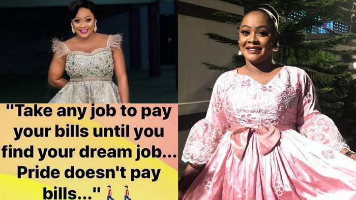 Pride doesn't pay bills. Take any job that pays your bills until you find a dream job – Comedienne Helen Paul