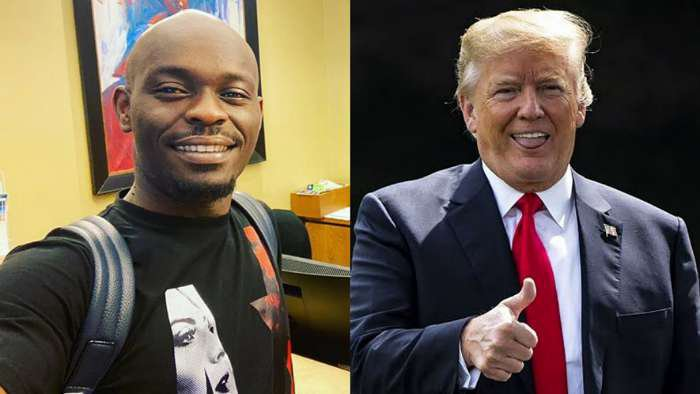 Please send all Nigerians in the USA back to Nigeria – Online Personality, Mr Jollof tells Trump