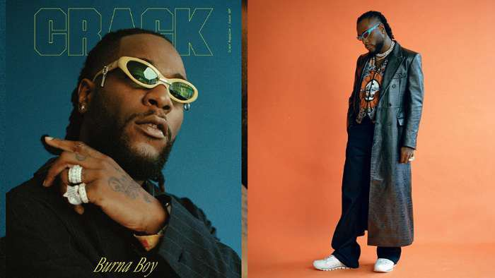 Superstar, Burna Boy makes it to the February cover story of Crack Magazine