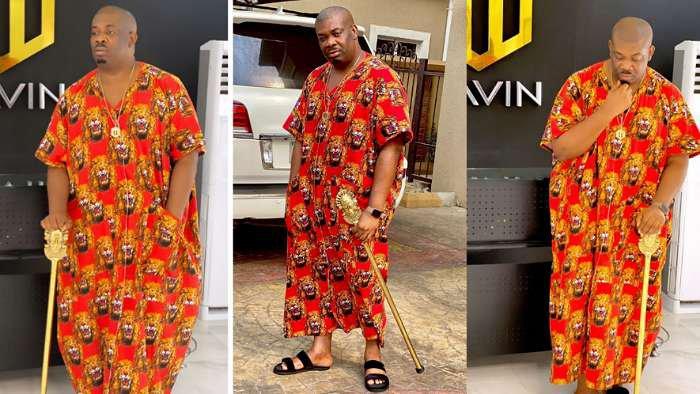 "Wow! Mavin boss, Don Jazzy dazzles in ""Isi Agu"" traditional attire"