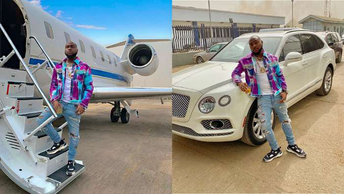 I need a new car and new plane – Music star, Davido declares