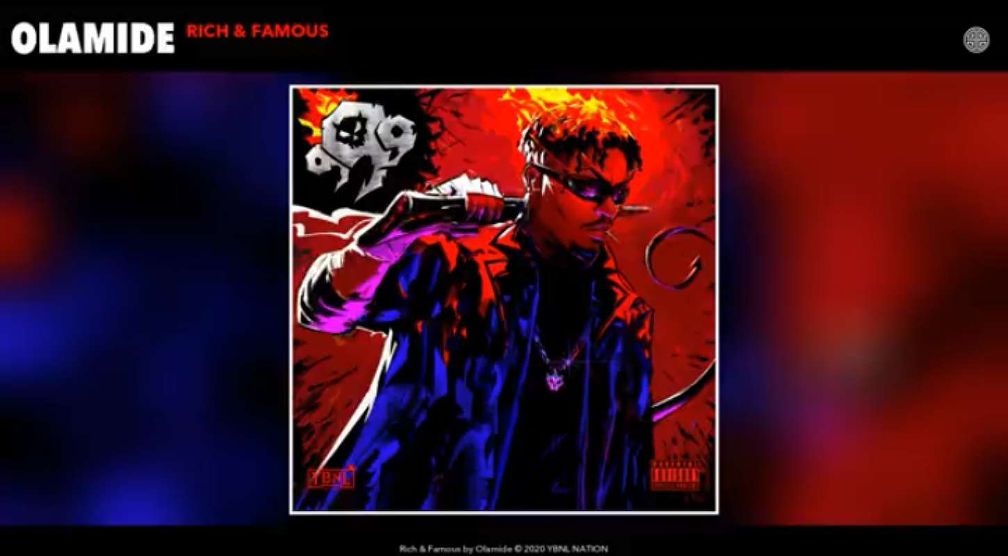 Download Instrumental Olamide – Rich and Famous (Reprod. By Sharplex)
