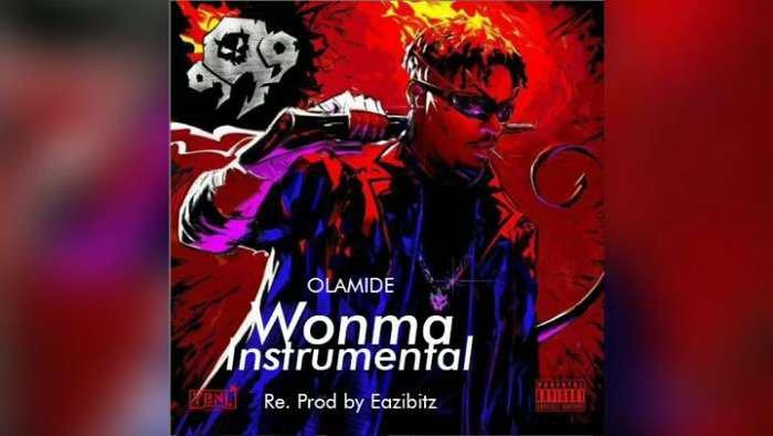 Download Instrumental Olamide – Wonma (Reprod. By Eazibitz)