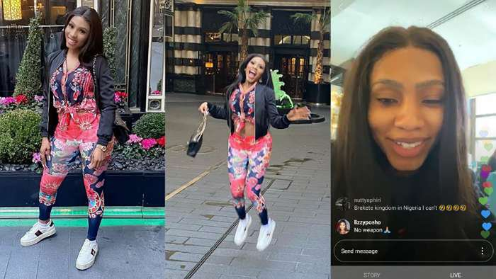 There's no hater in London – BBNaija star, Mercy confirms as she enjoys brief holiday