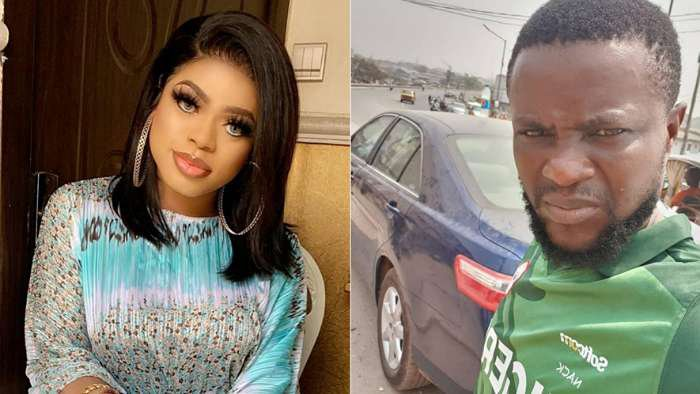 Bobrisky's driver on the run after stealing his Benz and N596k