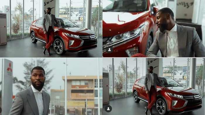 BBNaija star, Mike joins Mitsubishi Motors as brand ambassador