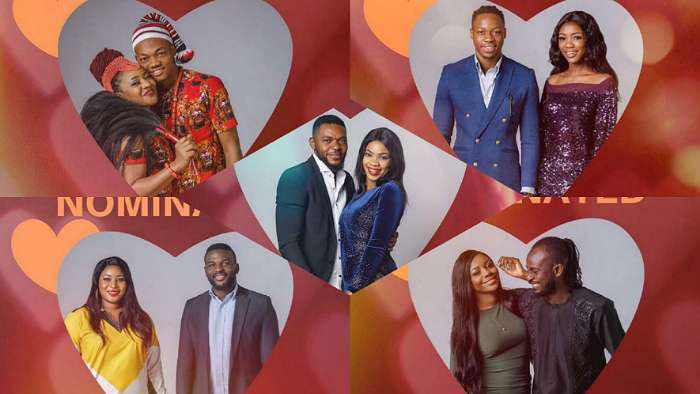 Ultimate Love: Couples up for eviction are Micherry, Iykeresa, ObiEbi, PreshDavid and Chivia (How to vote)