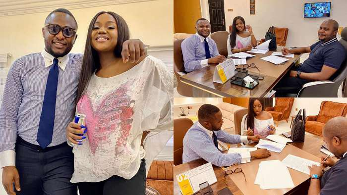 Davido's fiancée, Chioma secures a deal with hair brand, Royal Hair