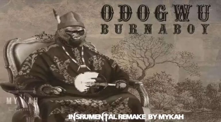 Download Instrumental Burna Boy – Odogwu (Reprod. By Mykah)