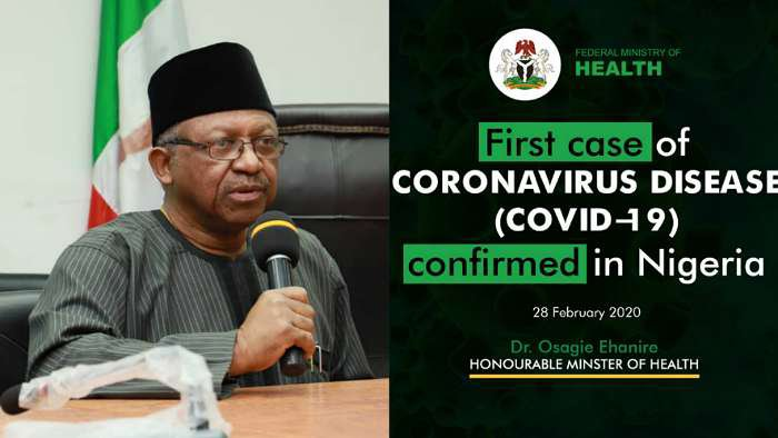 Nigeria Ministry of Health advises on how to protect oneself from Coronavirus