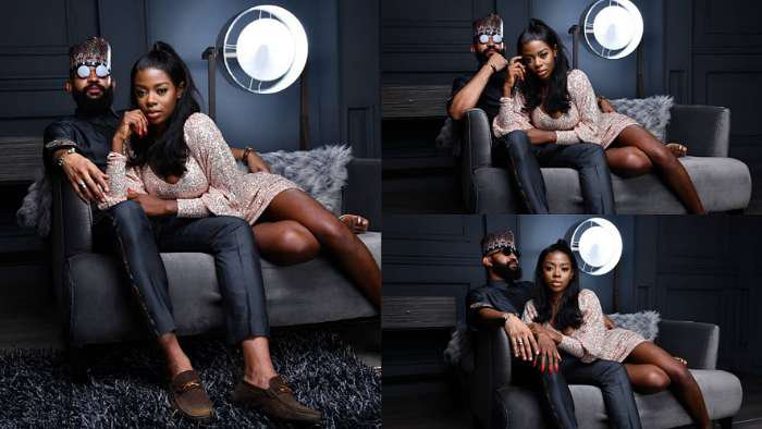 BBNaija's Jeff shares 'risky' photos of himself and Diane as he wishes her happy birthday