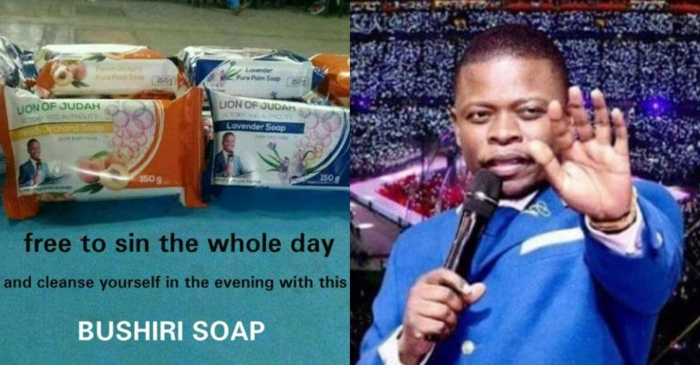 Malawian Prophet Sells Soap That Washes Away Sins For $50