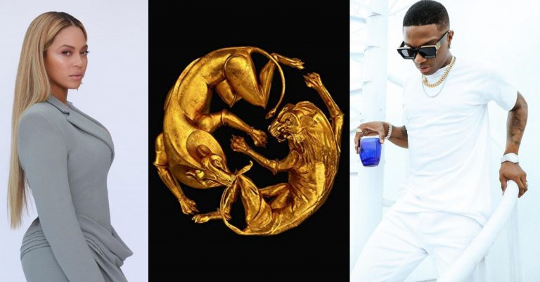 Beyoncé's joint with Nigerian singer, Wizkid, 'Brown Skin Girl' hits 100M global streams