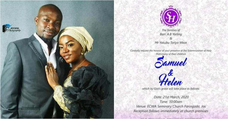 Groom slumps and dies on his Wedding Day in Jos, Plateau State.