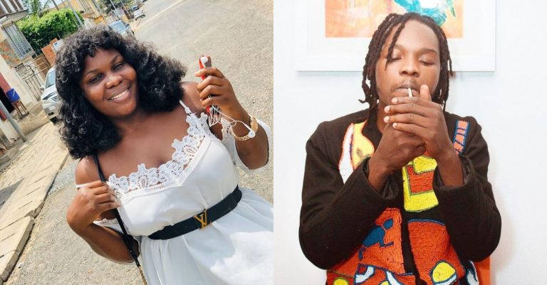 Female Marlian says Naira Marley predicted the outbreak of Coronavirus, shows evidence