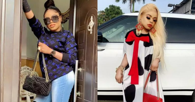 """Just three days of isolation and my bras and pants are so tight"" – Bobrisky cries out"