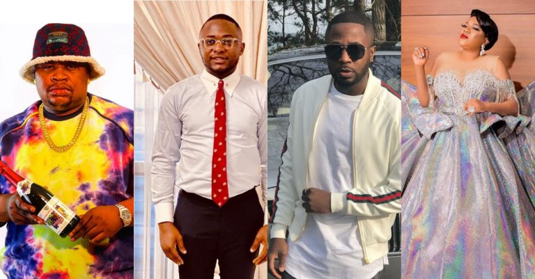 Cubana Chief Priest, Toyin Abraham, Tunde Ednut, others console Davido over Chioma's Covid-19 status