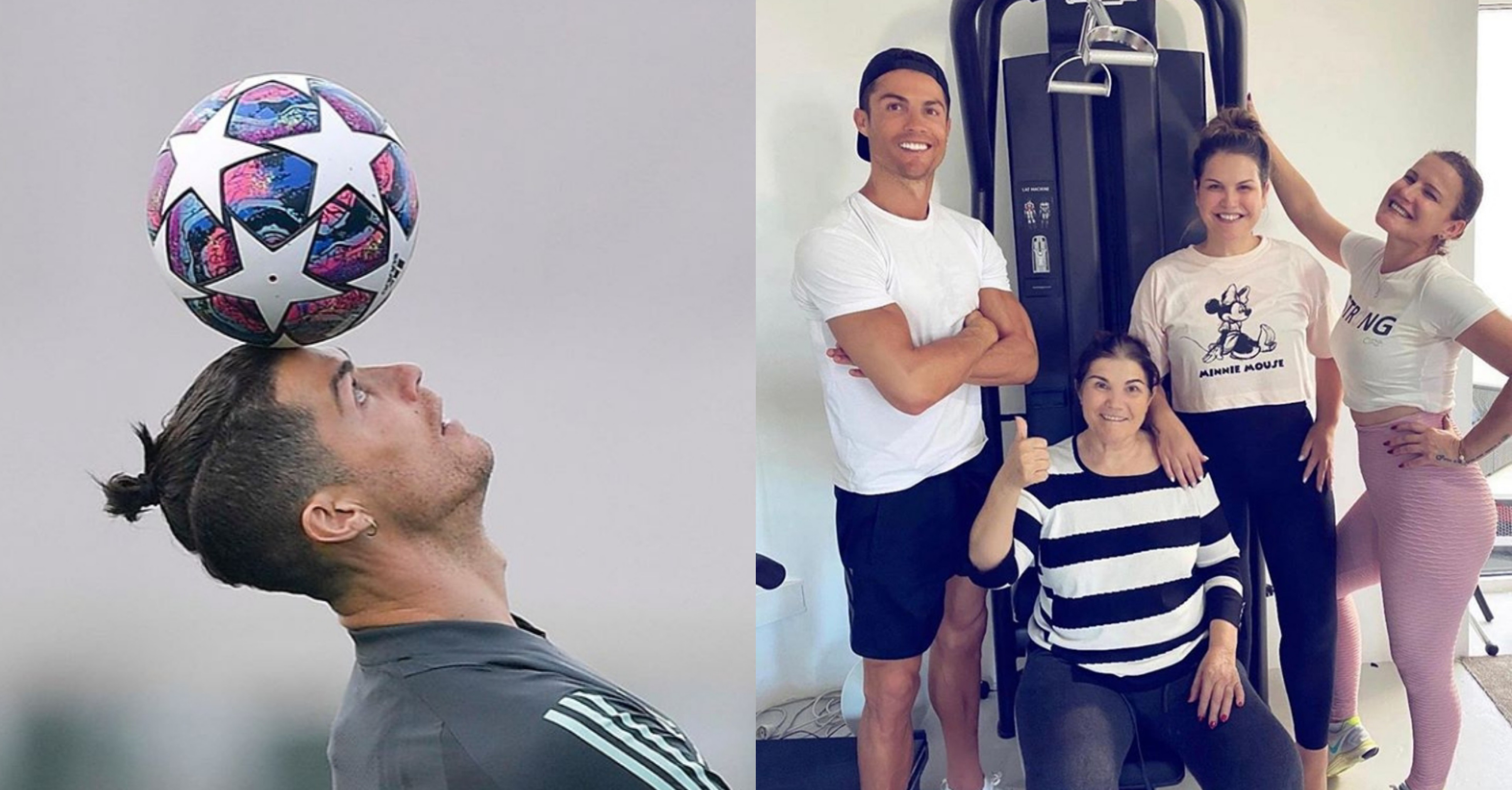 C.Ronaldo shares a never seen adorable photo of his mum and beautiful sisters