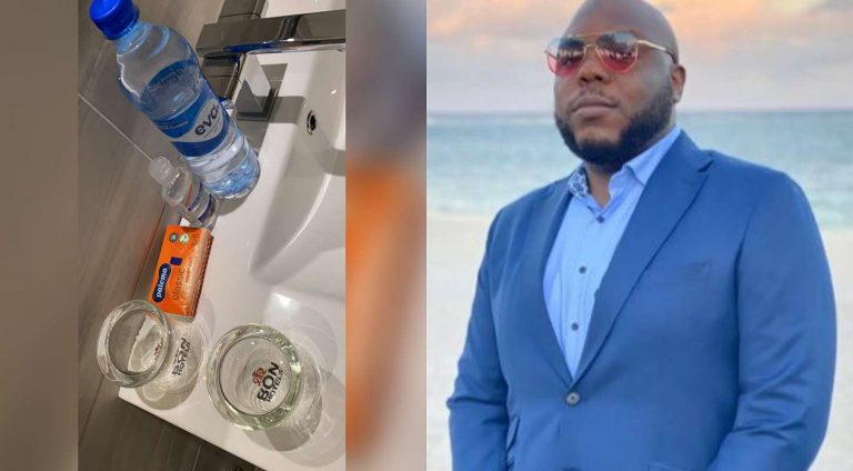 Music consultant, Bizzle Osikoya shares hospitable items he found in hotel in Owerri, Imo State