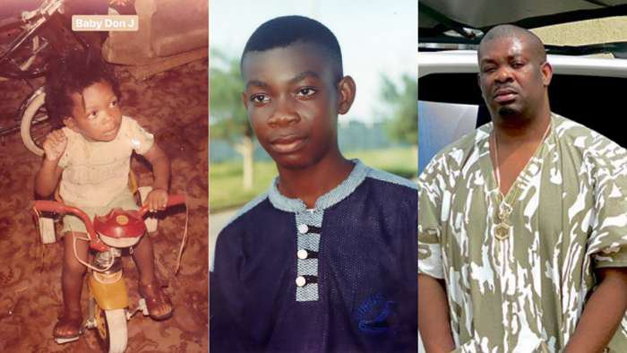Don Jazzy hits internet with wowing throwback photos of him