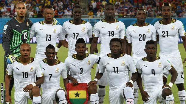 Ghana advanced in latest FIFA ranking