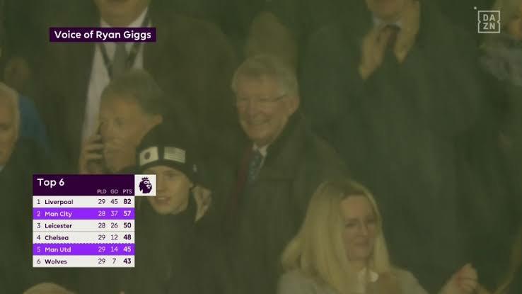 Sir Alex Ferguon's brilliant expression to Man Utd's win against 'noisy neighbours' Man City