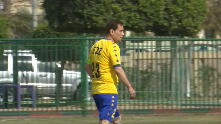 75-year-old Egyptian grand father scores on professional debut