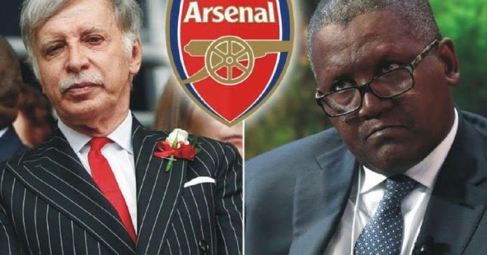 Nigerian billionaire Aliko Dangote told how much it will cost to buy Arsenal