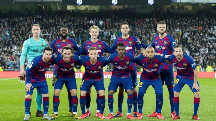 Covid-19: Barcelona considering Salary Cuts For Players, Coaching Staff